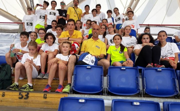 La squadra della Libertas Orvieto al Golden Gala (2)