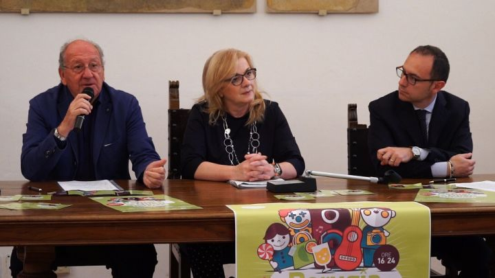 da sx, Sergio Mercuri, Cristiana Casaioli, Fabrizio Stazi