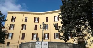 facciata dell'ospedale oggi