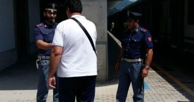 foto polizia ferroviaria foligno