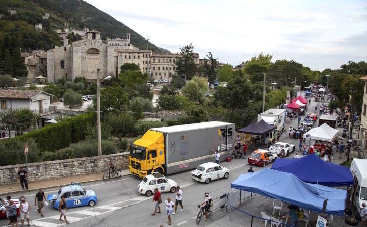 Affollato paddock a Gubbio per il Trofeo Fagioli FotoCarrone
