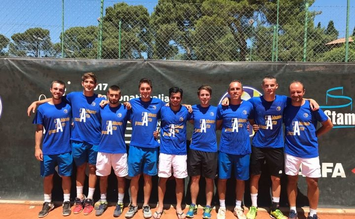 Junior Tennis Perugia promosso in A2