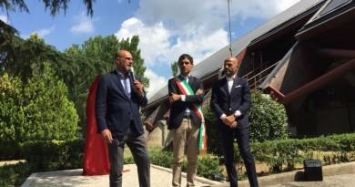 Mauro Bartolini, Andrea Romizi e Silvano Bartolini