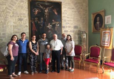 Perugia, Bassetti riceve due famiglie siriane assistite dalla Caritas