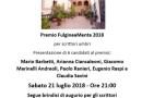 Foligno, Premio letterario Fulgineamente: primo incontro tra scrittori e pubblico