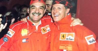 DAgostino con Michael Schumacher