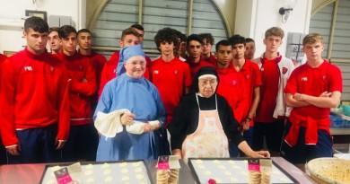 L'Under 16 al Monastero di santa Rita a Cascia 1 OK