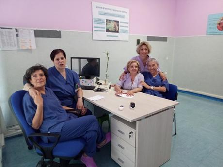 foto staff ambulatorio narni