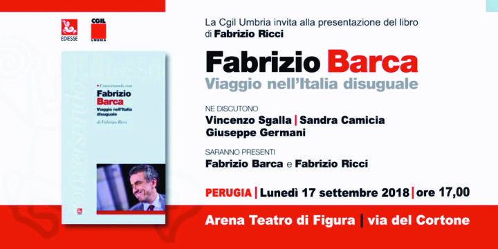 Spoleto, lunedì arriva Fabrizio Barca - Umbria Domani