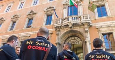 Sir Safety Conad Perugia Presentazione in Regione presso Palazzo Donini Perugia IT, 2 ottobre 2017. Foto: Sir Safety Perugia/Michele Benda [Riferimento foto: 2017-10-02/_ND53221]