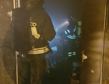 Incendio in un bar di Cascia, solo danni alla struttura