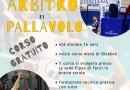 Pallavolo, al via a metà ottobre il corso per arbitri a Terni