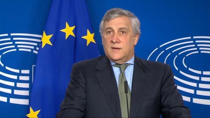 Antonio-Tajani Pres. Parlamento Europeo