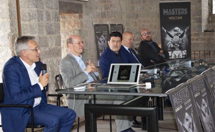Caro Stirati Mercadini Chianella Damiani presentano il FIA Masters 2018 a Gubbio phPHOTOSTUDIO