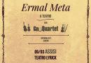 Al teatro Lyrick di Assisi arriva una tappa  del nuovo tour di Ermal Meta  sul palco con lo GnuQuartet