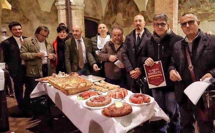 Giuria con responsabili Caritas e Accademia Lu Tribbiu