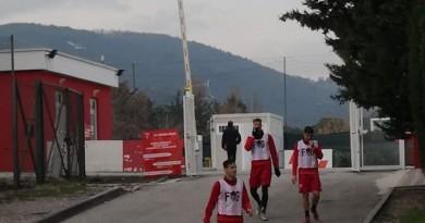 Perugia allenamento