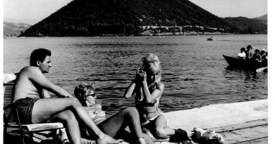Brigitte Bardot a Piediluco in bikini