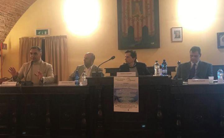 Da sinistra Marco Vinicio Guasticchi_Domenico Caprini_Stefano Casadei_Fabio Nicchiarelli