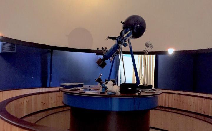 Sala del Planetario Paolo Maffei