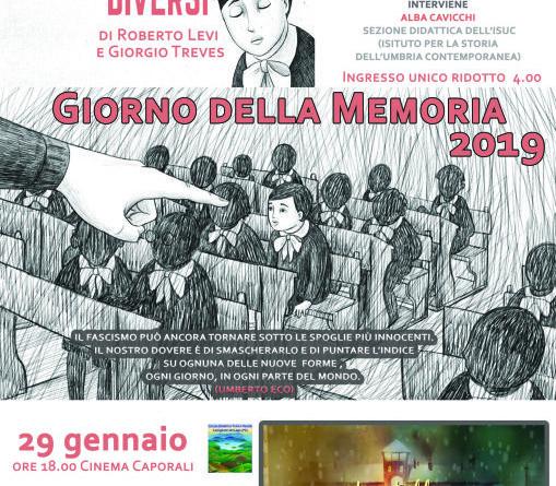 Giorno della Memoria 2019 a Castiglione (locandina)