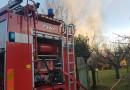 Passignano, incendio in una casetta di legno: nessuna persona coinvolta