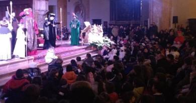 sacra rappresen-tazione arrivo magi in cattedrale pg