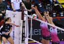 Lezione di stile e lezione di pallavolo: la grinta trascina la Bartoccini Volley alla vittoria