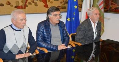 Da sinistra Giovanni Farano Carlo Moscatelli Fausto Risini 1