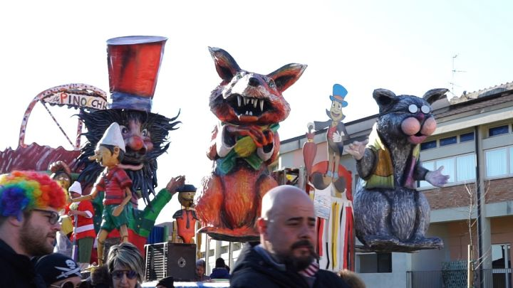 I carri del Carnevale dei bambini di Acquasparta 1