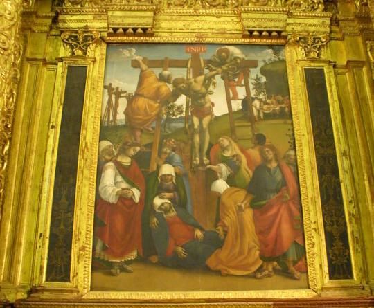 MUSEO di S. CROCE- umberdide - Deposizione - L.Signorelli