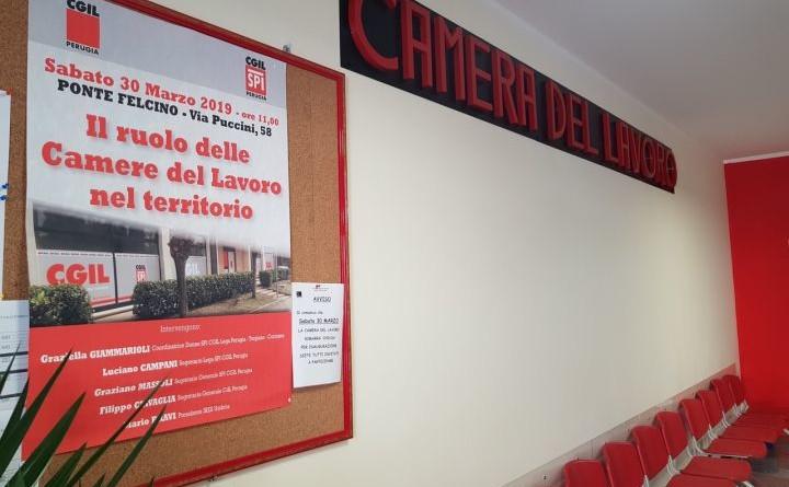 Perugia A Ponte Felcino Una Nuova Camera Del Lavoro Per Il