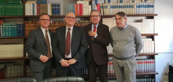 A destra Salvatore Santucci e Marco Tili