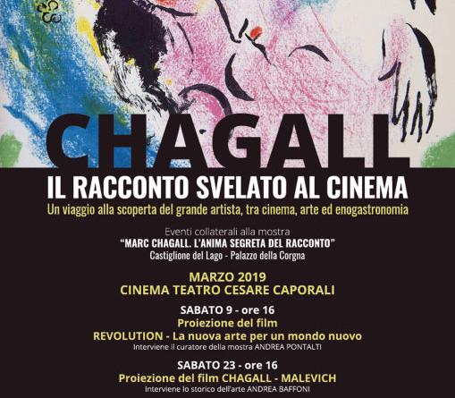 Chagall, il racconto svelato al cinema LOCANDINA
