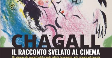 Chagall, il racconto svelato al cinema (fronte)