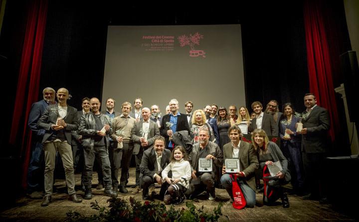 I premiati dell'edizione 2019 del Festival