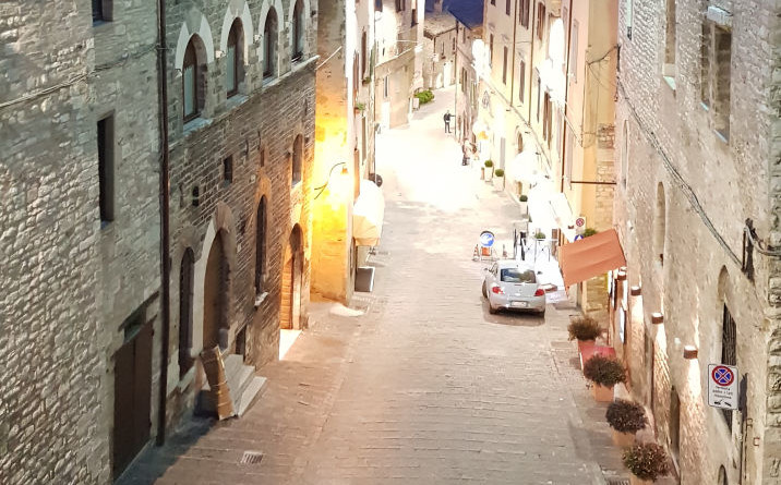 Relamping promosso da privati in Via della Repubblica Gubbio
