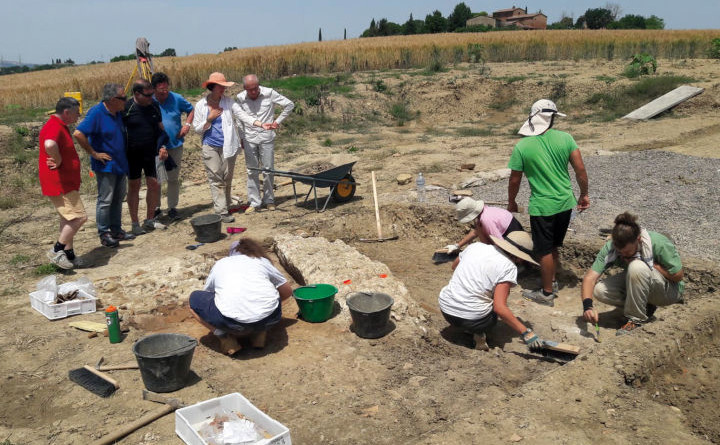 Campagna scavi 2018 a Castiglione 1