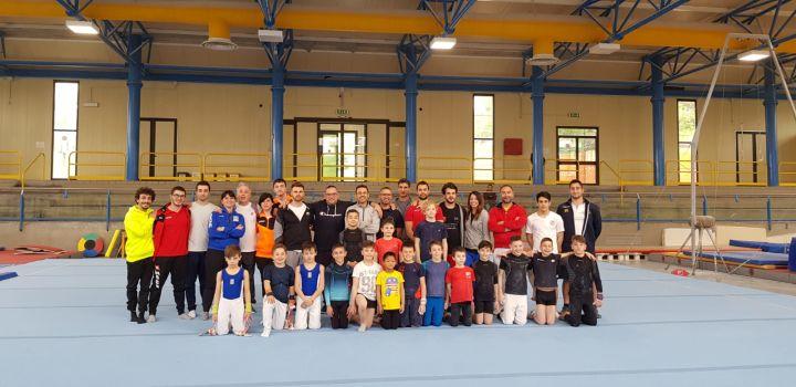 GAM Fermo, allenamento interregionale gold 1