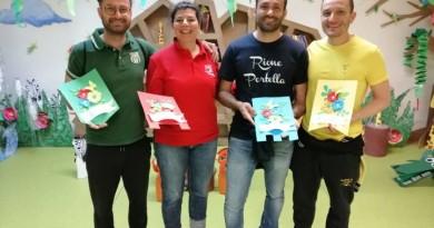I capitani dei 4 rioni premiati dagli alunni di PalioLabo