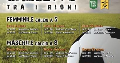Torneo di Calcetto tra i rioni 2019