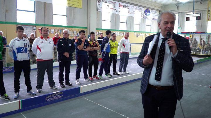 Umbro Brutti presenta gli atleti in gara