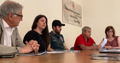 Da sx Maurizio Renzini, Michela Giuliani, Alessio Vissani, Pierluigi Mingarelli e Silvia Paolucci