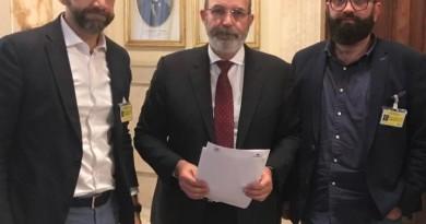 Roma incontro Confcommercio Federalberghi Crimi