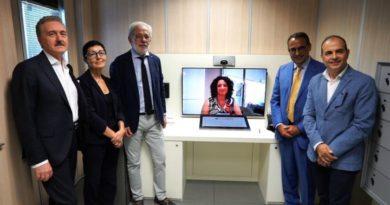 Inaugurazione del virtual bank office