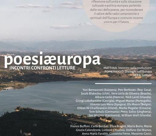 Poesiæuropa locandina