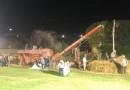 Città di Castello: successo per la prima volta della battitura di Piosina in notturna