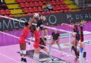 Volley Femminile, Perugia lotta ma Busto è incontenibile