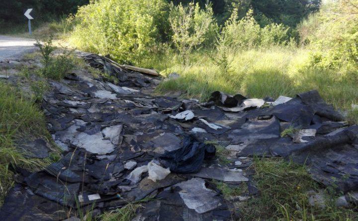 Due denunce ed una sanzione ad Assisi a chi abbandona i rifiuti per strada o nelle aree pubbliche