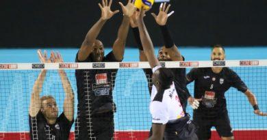 Sir Safety Conad Perugia, salta il testi con la Top Volley Cisterna